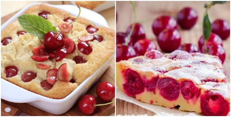 Французький пиріг з вишнею - рецепт приготування
