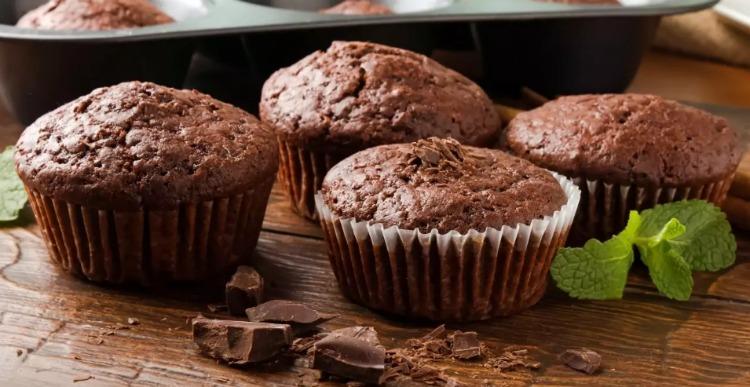Шоколадні кекси без борошна - рецепт приготування