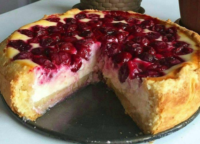 Ягідний пиріг - рецепт приготування