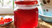 Желе з червоної смородини – смачне і корисне