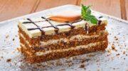 Простий рецепт смачного морквяного торта