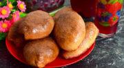 Пиріжки з вишнею – повітряні, м'які і дуже смачні