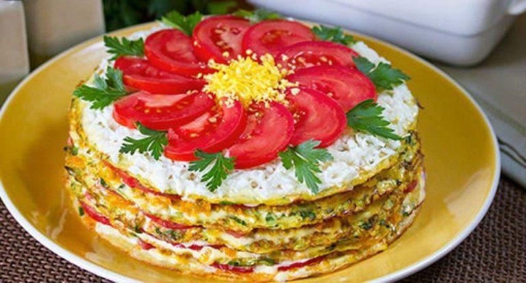 Торт з кабачків - рецепт приготування