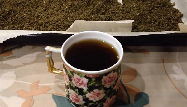 Чай з листя малини - незамінна річ для здоров'я