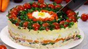 Салат «Гість за столом»: готується з простих і доступних продуктів, а результат виходить приголомшливим