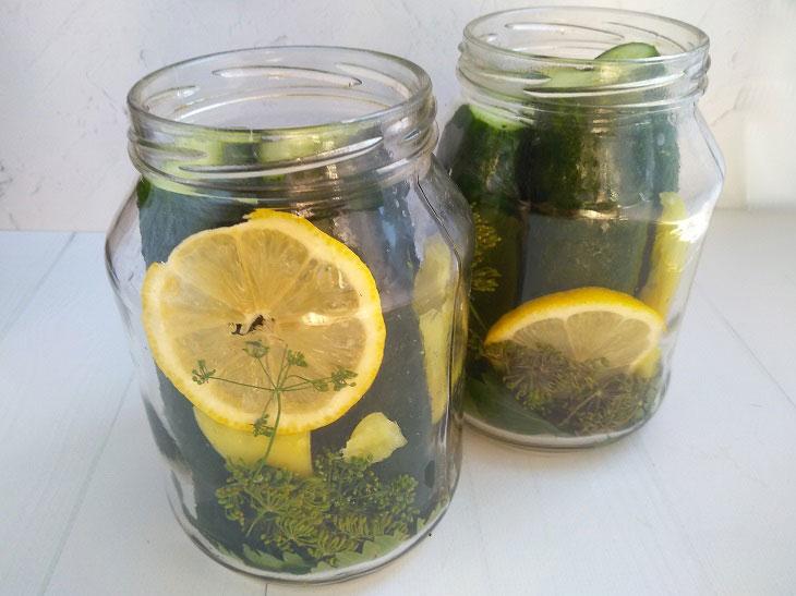 Огірки без оцту на зиму - швидкий рецепт смачної консервації