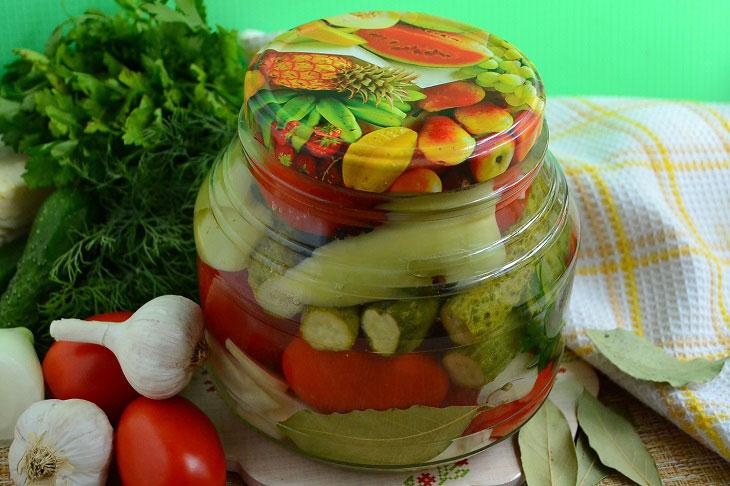 Асорті «5 овочів» на зиму - смачна і оригінальна заготівля