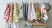 Кухонні рушники перу в мікрохвильовці від застарілих жирних плям і запаху за 3 хвилини