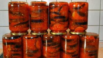 Рецепт приготування баклажанів в аджиці. Ця смачна страва підкорила вже багатьох людей