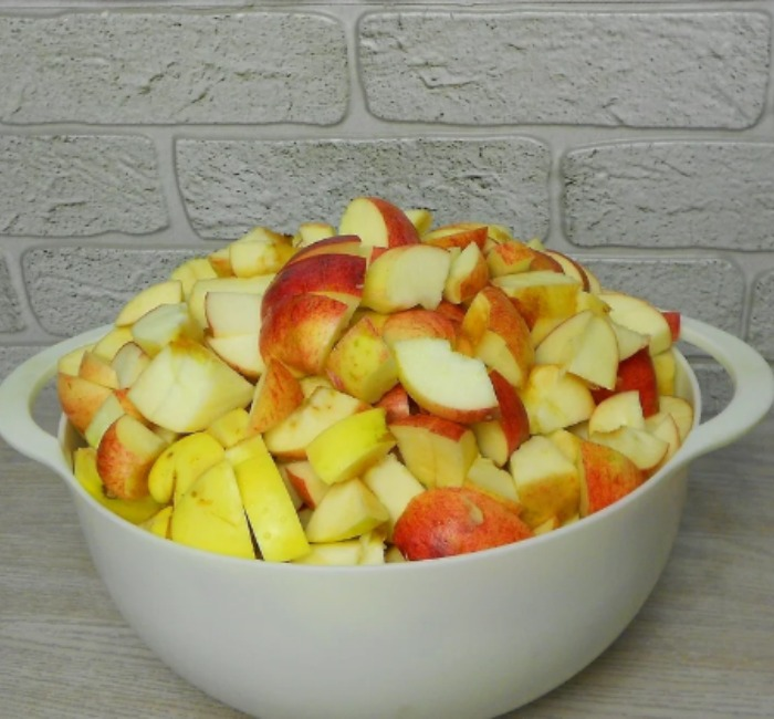 Тепер яблука заготовлюю тільки таким методом. Смачніше, ніж варення!
