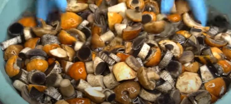 Мариновані гриби на зиму - покроковий рецепт
