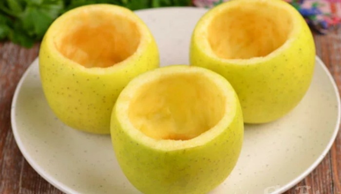 Сирна запіканка в яблуках за 7 хвилин. Це дуже смачно