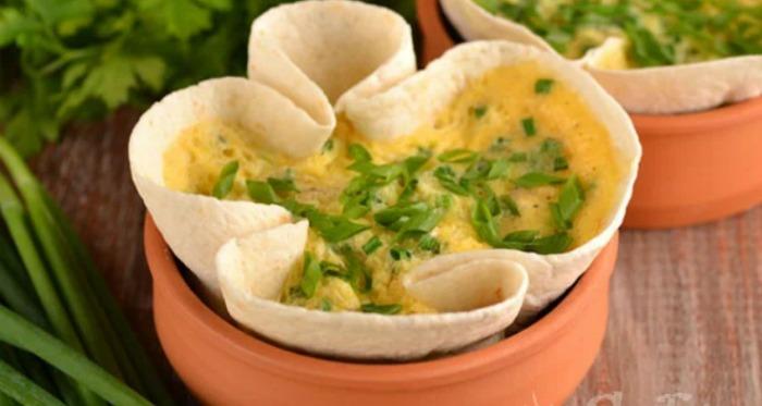 Сніданок за 3 хвилини з яєць і лаваша без олії (ділюся рецептом)