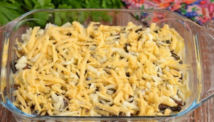 За 35 хвилин з картоплі і грибів готую смачну запіканку (ділюся рецептом)