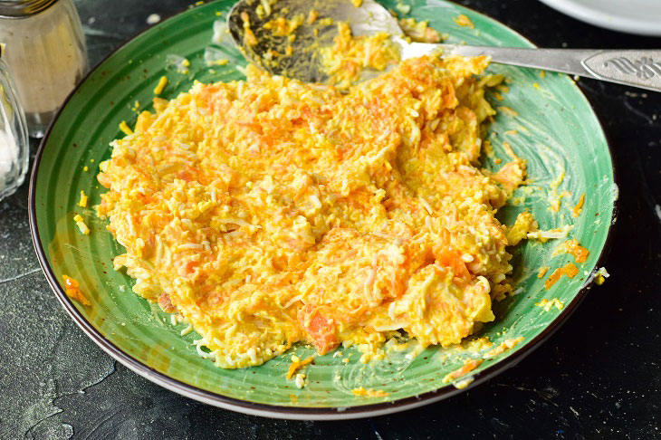 Морквяні кульки - дуже смачна закуска на будь-яке свято