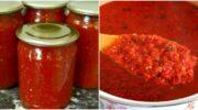 Як приготувати ароматну аджику без варіння