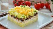 Салат «Венеція» з куркою – яскравий і апетитний