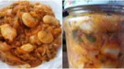 Рецепт приготування на зиму ситної та смачної консервації з квасолі, моркви та цибулі