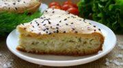 Заливний пиріг з капустою – відмінний рецепт