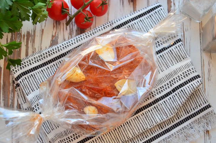Рецепт буженини в рукаві - неймовірно смачне і соковите м'ясо