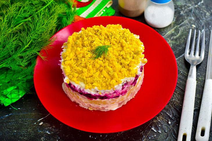 Салат «Граф» - ошатний і дуже смачний