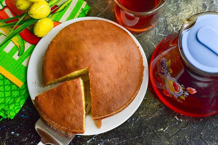 Пиріг «Хмаринка» - повітряна і оригінальна випічка до чаю