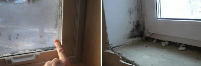 Чому з'являється конденсат на пластикових вікнах і методи боротьби з ним