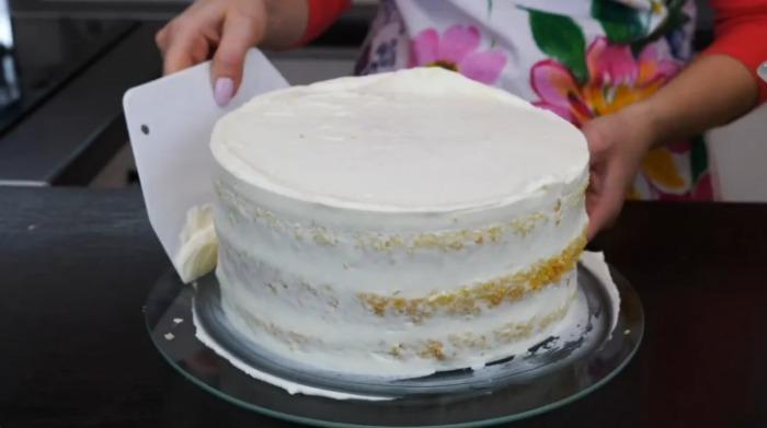 """Торт """"Зимова казка"""" - дуже смачний і ніжний"""