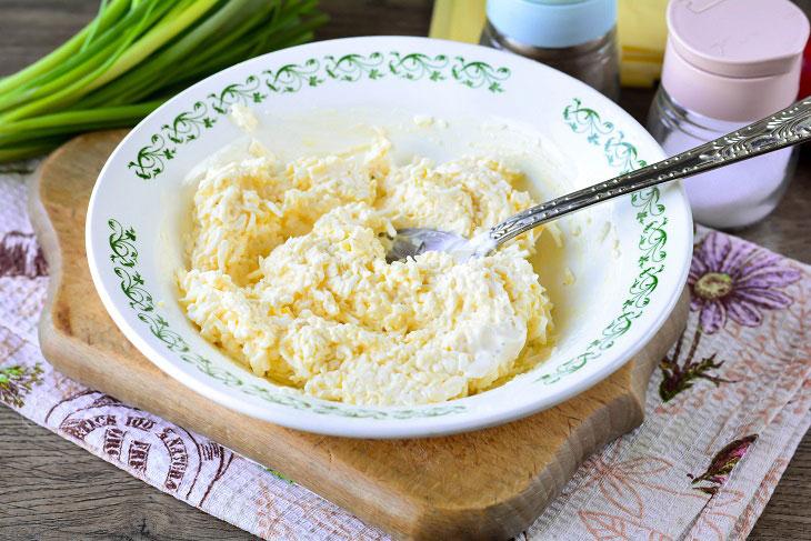 Закуска «Кали» з плавленого сиру - смачно, красиво і оригінально