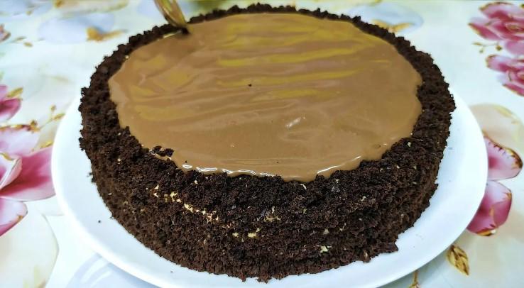 Нарешті то я його знайшла! Швидкий шоколадний торт, ніжний і дуже соковитий