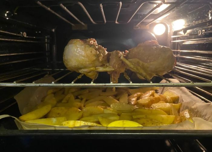Якщо готую курку, то тільки так. І на вечерю і на святковий стіл