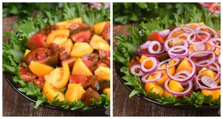 Мій улюблений багатошаровий салат! Готується просто
