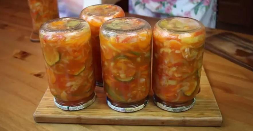 Салати на зиму: прості рецепти смачних заготовок