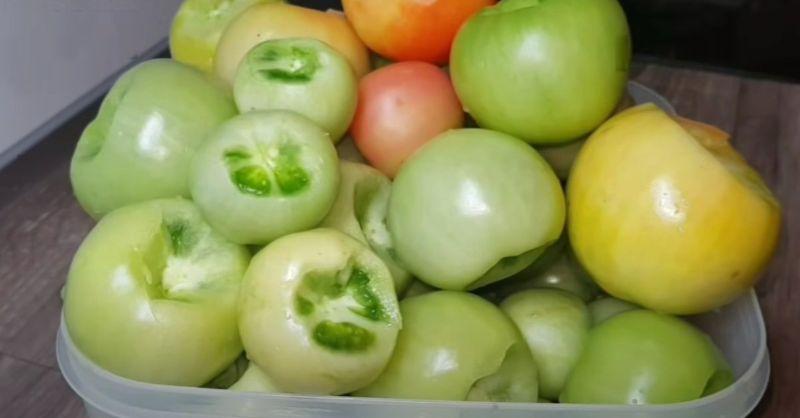 Мариновані зелені помідори: оригінальний рецепт для домашньої консервації