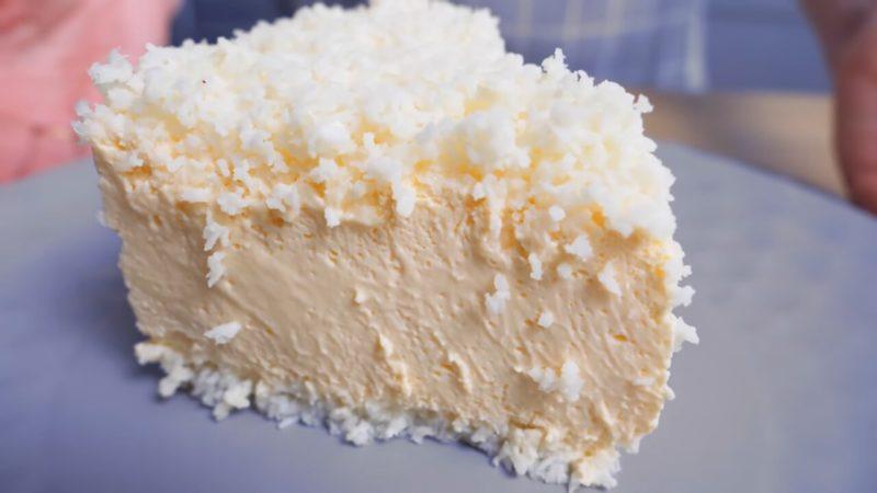 Десерт, який смачніше морозива. Кокос і персик - верх насолоди