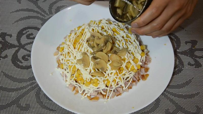 Дуже смачний салат «Хризантема». Збере на себе всю увагу гостей за святковим столом